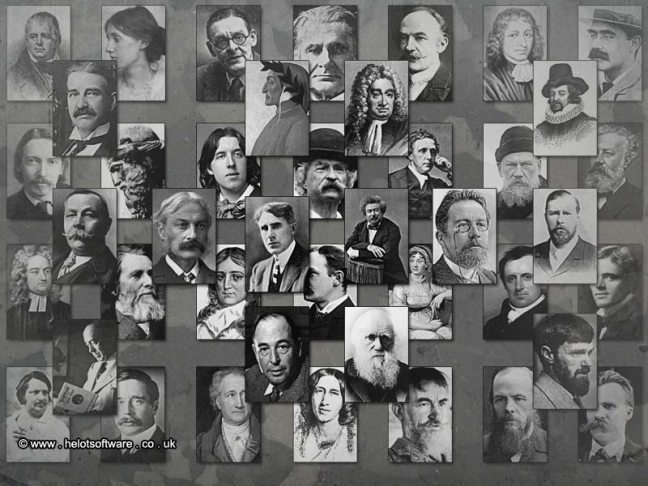 Recognize any of these classic authors?